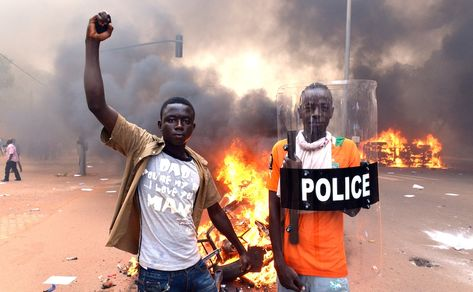Burkina Faso Burning