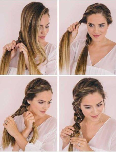 Gunluk Sac Modelleri Ve Yapilislari En Guzel Sac Modelleri Peinados Diarios Peinados Cabello Medio Peinados