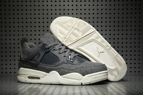 air jordan retro 4 gris homme
