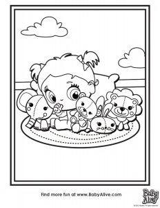 Desenhos Da Baby Alive Para Colorir Pintar E Imprimir Colorir