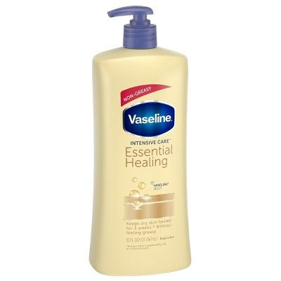 Vaseline Intensive Care Body Lotion Essential Healing 32 Oz In 2020 Healing Dry Skin Lotion For Dry Skin Moisturizer For Dry Skin