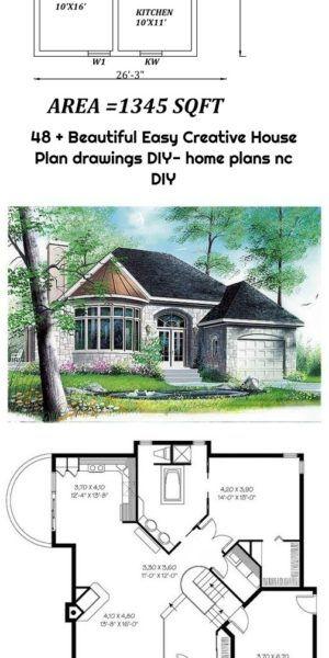 48 Beautiful Easy Creative House Plan Drawings Diy Home Plans Nc Diy