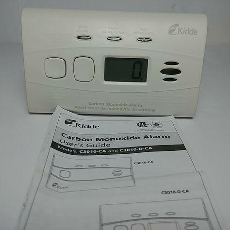 Kidde Carbon Monoxide Alarm C3010 D CA