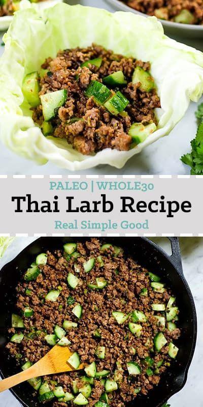 Thai Larb Recipe (Paleo + Whole30)