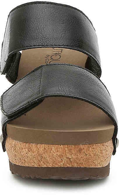 Corkys Shaw  Casual   Wedges Womens Brown