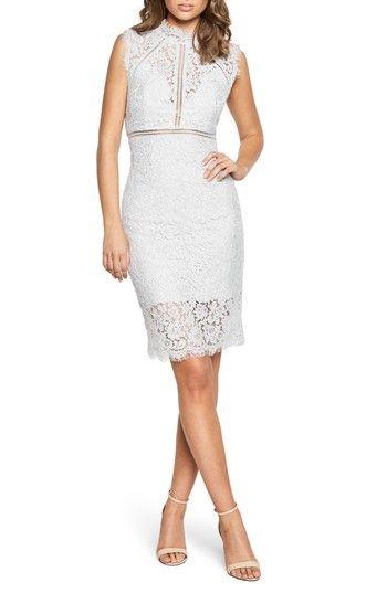 Bardot Lace Sheath Dress Bardot Cloth Bardot Lace