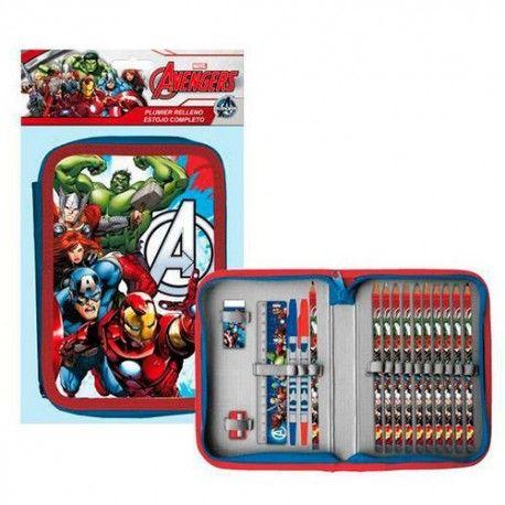 Estojo Completo Avengers Marvel 20pcs 8 90 Com Imagens Marvel