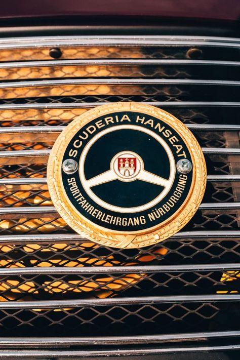 ADAC German Auto Club car grille badge Triple-C