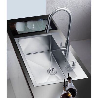 Dcor Design 33 X 22 Single Drop In Kitchen Sink Drop In Kitchen Sink Best Kitchen Sinks Single Bowl Kitchen Sink 33 x 22 kitchen sink single bowl