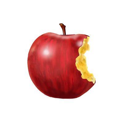 最高の壁紙: 【ほとんどのダウンロード】 りんご イラスト フリー | りんご, リンゴ イラスト, イラスト