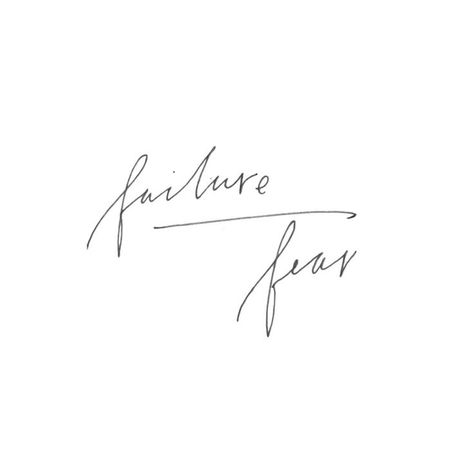 Quotes about fear, quotes about failure, quotes to live by, iPhone background, iPhone wallpaper tumblr, motivational quotes, tatiana soash hand lettering, tatiana soash, hand lettered quotes