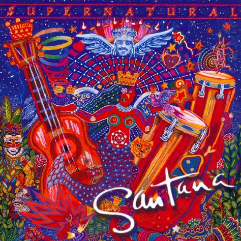 Carlos Santana - Supernatural (CD)