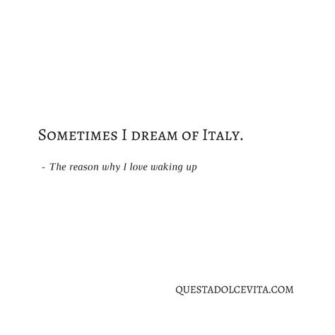 Only Italy, Italian, and Travel Pins - QUESTA DOLCE VITA