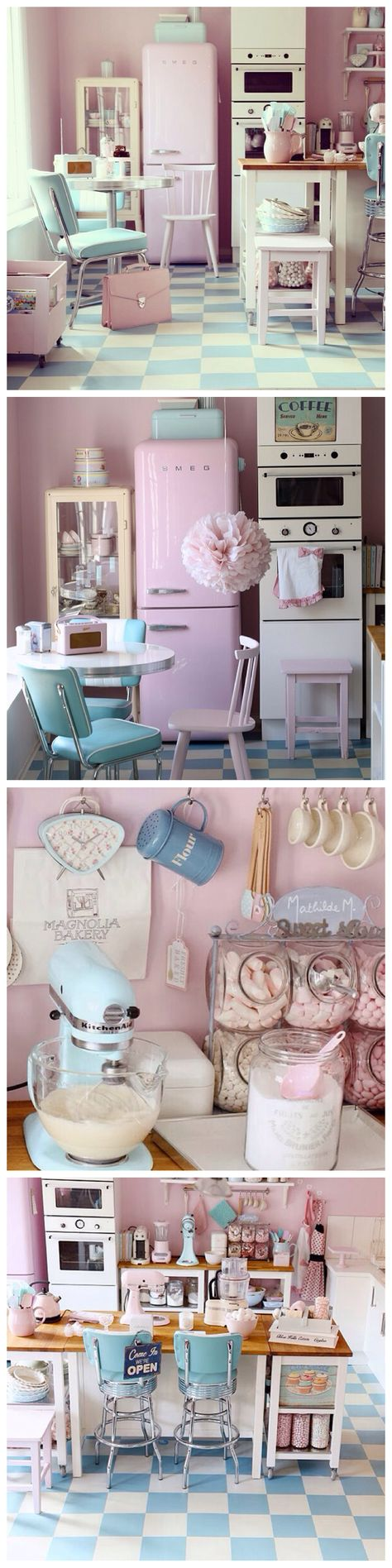 Pretty Pastel Kitchen Inspiration | Decor | Pinterest | Pretty ...