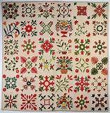 Maryland Album Quilt: Dated 1851 Sold by Stella Rubin | applique