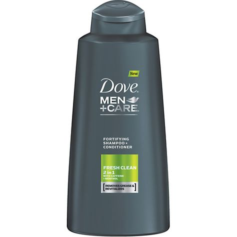 Dove Men Care Fresh Clean Fortifying 2 In 1 12oz Dove Men Care Womens Health Magazine Health Beauty