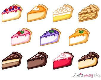 Cake Clipart Piece Of Cake Clipart Bakery Clipart Pastry Etsy In 2021 Cake Clipart Cute Food Art Piece Of Cakes
