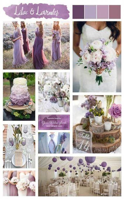 Wedding Colors Lilac Lavender Colour Palettes 31 Ideas Wedding