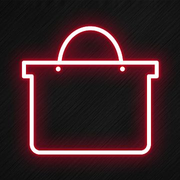 Shopping Bag Icon In Neon Style Shopping Icons Style Icons Bag Icons Png Transparent Clipart Image And Psd File For Free Download Wallpaper Iphone Neon Neon Wifi Icon