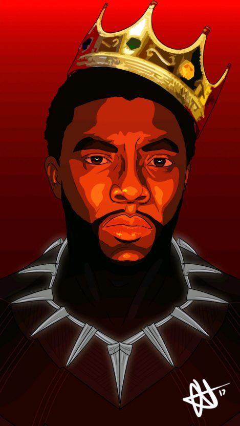 Black Panther Art Hd Iphone Wallpaper Wakanda Imagem Negra