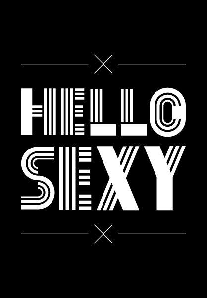 Sexy hello quotes