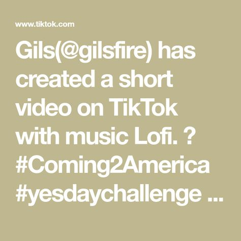 Gils(@gilsfire) has created a short video on TikTok with music Lofi. 😃 #Coming2America #yesdaychallenge #cartiktok #fyp #foryou #witchtok #tarot #tarotreading #psychic #nowlookatthis