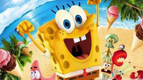 HD wallpaper: Spongebob Squarepants movie wallpaper, multi colored, representation