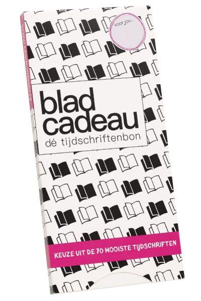 Met Bladcadeau Voor Jou Lezen Geef Je Een Cadeau