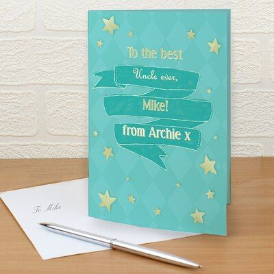 Personalised Shining Star Card Same Day Delivery Gifts Personalized Gift Cards Happy 13th Birthday