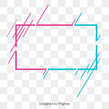 Bule Border Rectangle Clipart Bordersimple Style Vector Png And Vector With Transparent Background For Free Download Free Graphic Design Frame Border Design Text Borders