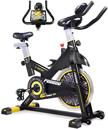 Best Seller Pooboo Indoor Cycling Bike Belt Drive Indoor Exercise Bike Stationary Bike Lcd Display Home Cardio Workout Bike Training Online Bestsellersoutfi In 2020 Biking Workout Indoor Cycling Bike Best Exercise Bike