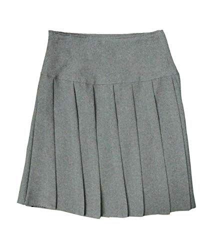 Girls School Uniform Pleated Skirt All Round Elasticated Waist School Skirt