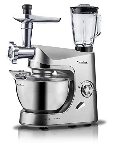 2000 W Turbot Electronic Robot De Cocina Promixplus Incluye Picadora De Carne Batidora 1 5 L Recipiente De Cristal Robot De Cocina Cuenco Batidora