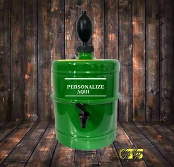 Chopeira Verde Personalizada Portatil 5 1 L Tks Brasil
