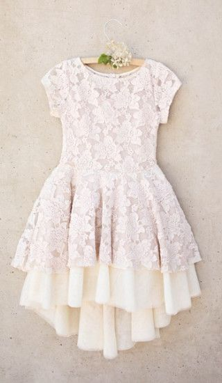 Lace Dresses Girls