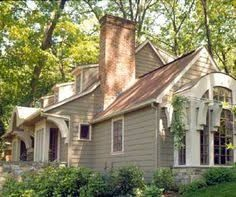 Image Result For Pictures Of Houses With Rust Colored Roof House Exterior Roof Design Brown Roofs