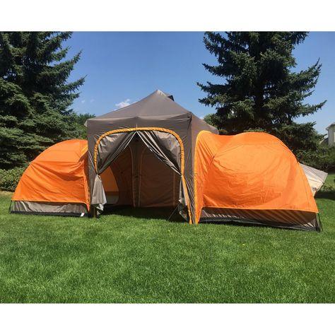 Camp Modular Tent 2 Modular Domes Sleeps 6 Comfortably