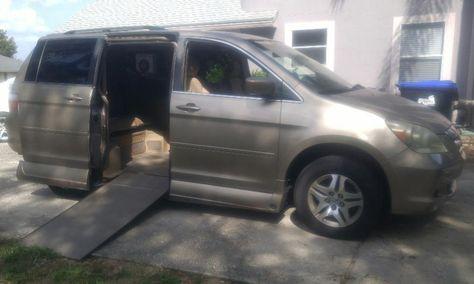 Used 2006 Honda Odyssey Ex Wheelchair Van Honda Odyssey Wheelchair Van