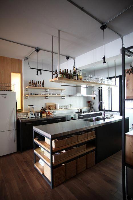 Cooking Up Fantastic Kitchen Designs Cocina Estilo Industrial