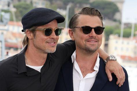 "Leonardo DiCaprio Fanpage on Instagram: ""Leo with Brad Pitt #leonardodicaprio #bradpitt #onceuponatimeinhollywood"""