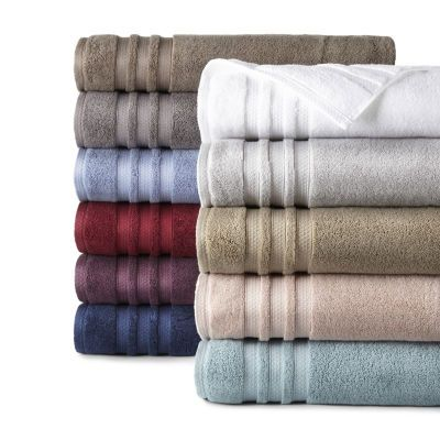 Buy Liz Claiborne Luxury Egyptian Hygrocotton Loops Bath Towel At