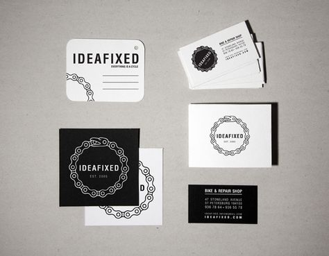 Ideafixed identity by Ooli Mos, via Behance