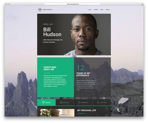 34 Best Vcard Resume Wordpress Themes 2020 Wordpress Theme
