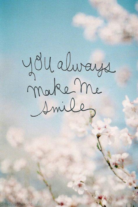 Siempre Me Haces Sonreír Frases Reflexion Me Haces