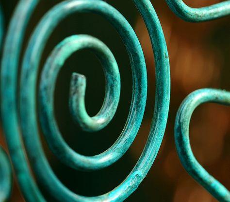 Verdigris on Copper Coils
