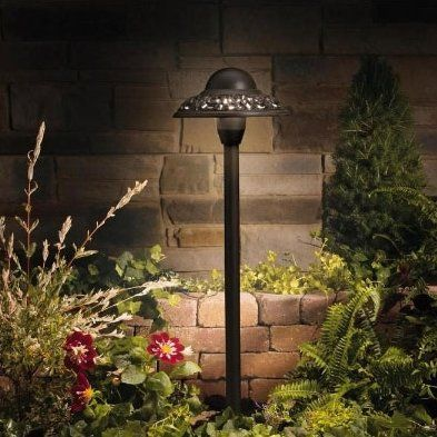 Kichler Pierced 1 Light Pathway Light Products In 2019 Outdoor Path Lighting Landscape Lighting Path Lights