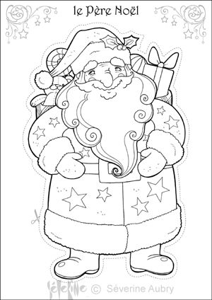 Coloriage Heros De Noel Befana Xmas Christmas Colors