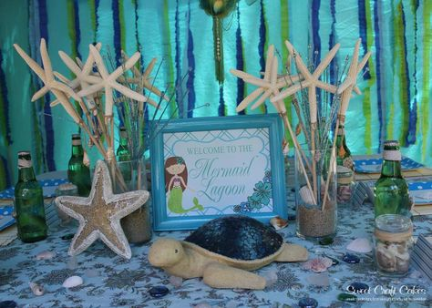 Design Dazzle: Mermaid Party Ideas Love the starfish wands adorable
