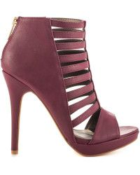 Regan - Cranberry PU by Michael Antonio. Shop Women's Boots ...