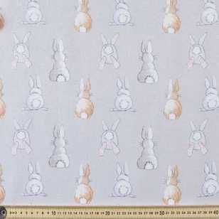 Cotton Tail Printed Flannelette Sewing Fabrics Apparel Fabric Fabric